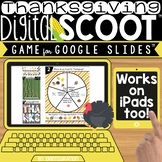 THANKSGIVING GOOGLE SLIDES DIGITAL SCOOT