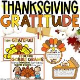 Thanksgiving Gratitude Lesson, Gobble Grams, In-Person & D