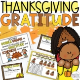 Thanksgiving GRATITUDE Lesson, Gobble Grams, and Craftivity!
