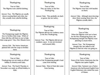 Thanksgiving Game