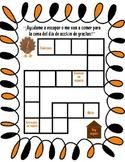 Thanksgiving Game Board {Spanish}