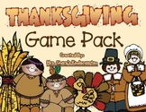 Thanksgiving Game Pack - Math & Literacy Games