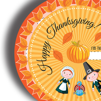 Thanksgiving Game • Paper Craft Wheel • Printable Classroom Project