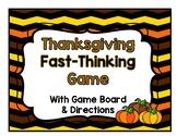 Thanksgiving Game {Grades 3-12}