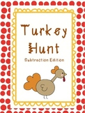 Thanksgiving Game:Turkey Hunt (Simple Subtraction: Common Core)