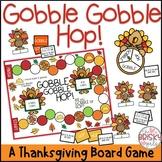 Thanksgiving Games (Gobble Gobble Hop Thanksgiving Game)