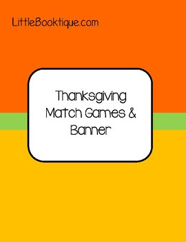 Thanksgiving Games, Math Games, and Bingo