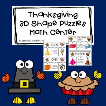 Thanksgiving Geometry Math Center