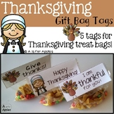 Thanksgiving Gift Bag Tags {FREEBIE}