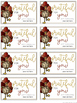 Thanksgiving Gift Tags {Editable}