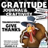 """Thanksgiving """"Give Thanks"""" Activities"""