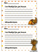 Thanksgiving: Give Thanks Gratitude Activities