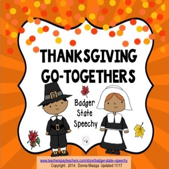 Thanksgiving Go-togethers!