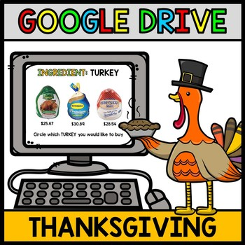 Thanksgiving - Google Drive - Special Education - Grocery Shopping - Money
