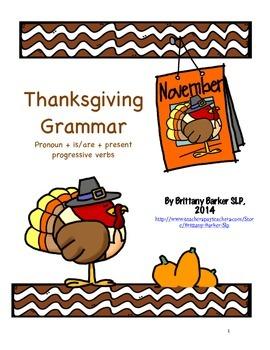 Thanksgiving Grammar