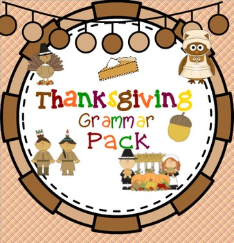 Thanksgiving Grammar Pack