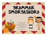 Thanksgiving Grammar: Speech Therapy Activities