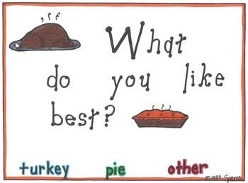 Thanksgiving Graph K-3