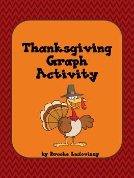 Thanksgiving Graph Activity Grade 1