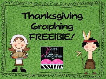 Thanksgiving Graph FREEBIE