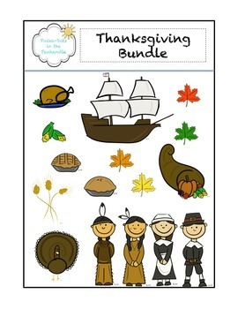 Mayflower/Pilgrim Graphic Bundle