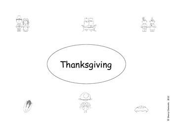 FREE DOWNLOAD : Thanksgiving Graphic Organizer FREEBIE