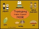 Thanksgiving Graphic Organizer FREEBIE
