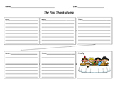 Thanksgiving Graphic Organizers to facilitate writing