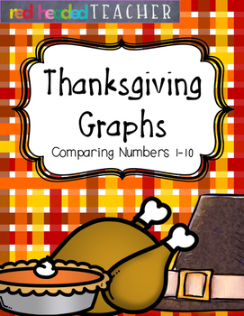 Thanksgiving Graphing - Comparing Numbers 1-10