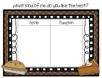 Thanksgiving Graphing Freebie