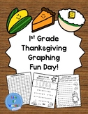 1st Grade Thanksgiving Graphing Fun Day!