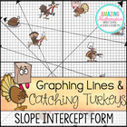 Thanksgiving Graphing Lines Activity ~ Slope Intercept Form