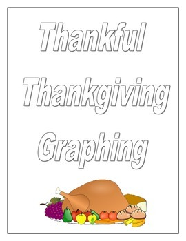 Thanksgiving Graphing Math