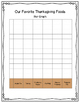 Thanksgiving Graphing Projects & Writing Prompt