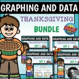 Thanksgiving Graphing and Data Boom Cards™ Bundle