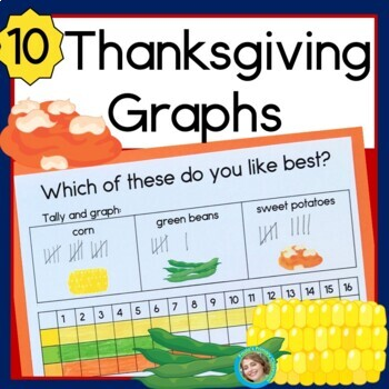 Thanksgiving Graphs: Horizontal, Vertical and Pictographs