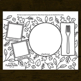 Thanksgiving Gratitude Doodle Coloring Activity Printable | Early Finishers