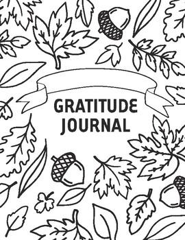 Thanksgiving Gratitude Journals