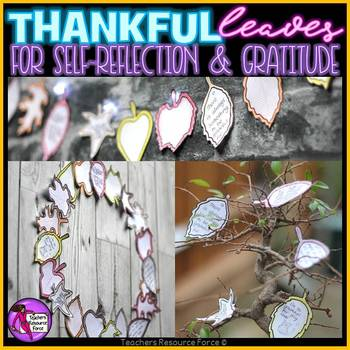 Thanksgiving Gratitude Leaves Crafts