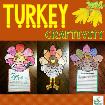 Thanksgiving Gratitude Turkey Craft