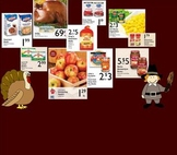 Thanksgiving Grocery Shopping Math