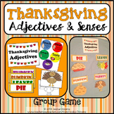 Adjectives Game: Thanksgiving