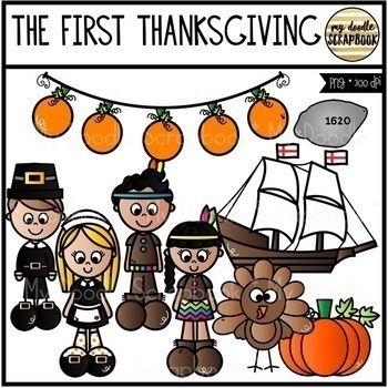 Thanksgiving Bundle (Clip Art for Personal & Commercial Use)