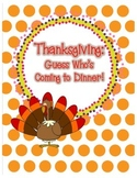 Thanksgiving: Guess Who's Coming to Dinner writing center
