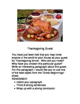 Thanksgiving Guest
