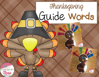 Thanksgiving Guide Words