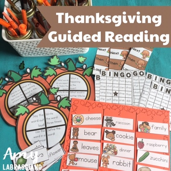 Thanksgiving Guided Reading Mini Unit