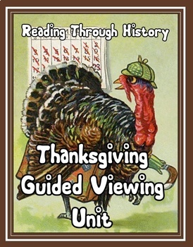 Thanksgiving Guided Viewing Activity