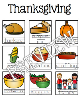 Thanksgiving Guided Writing Pattern Prompts for Emerging Writers