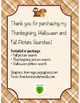 Thanksgiving, Halloween & Fall Picture Search